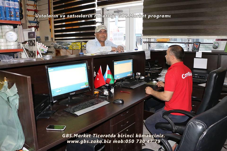 GBS Market Proqramı Nicat İnşaatda